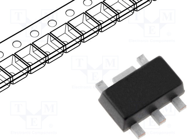 картинка  DIODES INCORPORATED PAM2861CBR