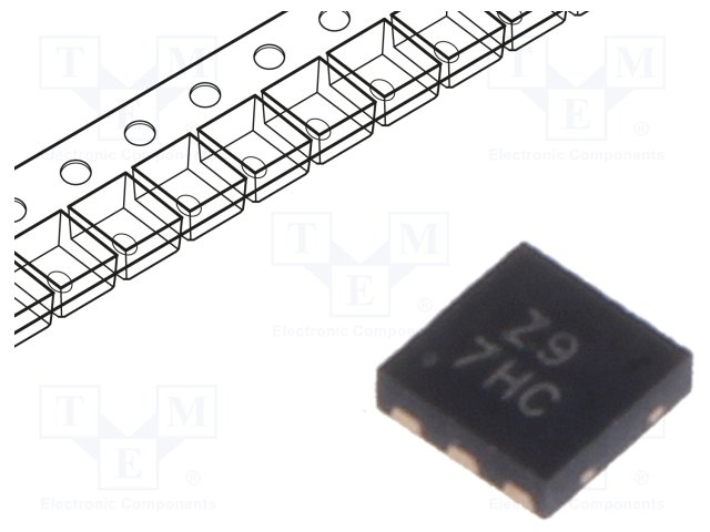 картинка  DIODES INCORPORATED AL3050FDC-7